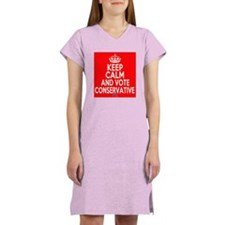 Keep Calm LAX On Women's Nightshirt