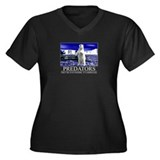 Predators Women's Plus Size V-Neck Dark T-Shirt