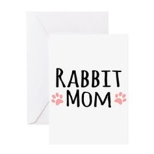 Rabbit Mom Greeting Cards