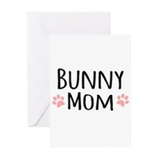 Bunny Mom Greeting Cards