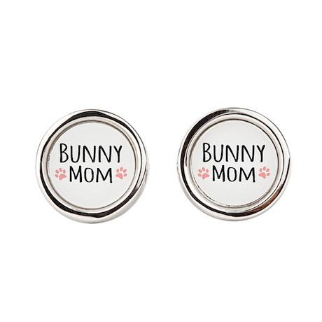 Bunny Mom Cufflinks