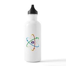 Atom Bohr Model Water Bottle