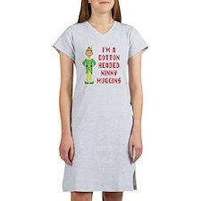 Funny Cotton Headed Ninny Muggi Women's Nightshirt