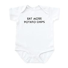 Eat more Potato Chips Infant Bodysuit