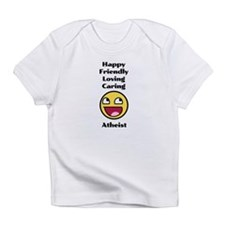 Happy Friendly Atheist Infant T-Shirt