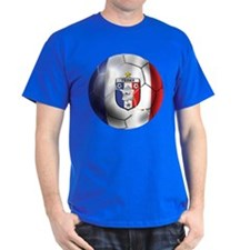 French Soccer Ball T-Shirt