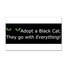 Cute Cat Rectangle Car Magnet