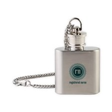 RN / NURSE Flask Necklace