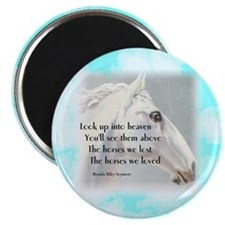 The Horses We Love Magnets