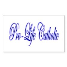Pro-Life Catholic Decal