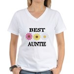 BEST AUNTIE EVER WITH FLOWERS T-Shirt