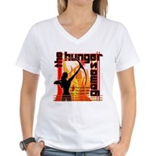 Personalize Girl on Fire Shirt