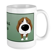 Big Nose Beagle Dad Mugs