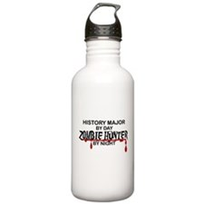 Zombie Hunter - History Major Water Bottle