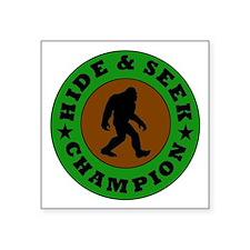 Bigfoot Hide And Seek Champion Sticker