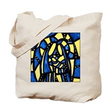 Holy Family Nativity Abstract Tote Bag