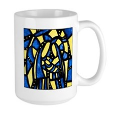 Holy Family Nativity Abstract Mugs