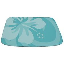 Hibiscus Aqua Bathmat