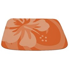 Hibiscus Orange Bathmat