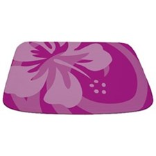 Hibiscus Purple Bathmat