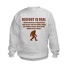 Bigfoot Is Real Sweatshirt