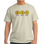 Time Travel + Genealogy = Happiness Light T-Shirt