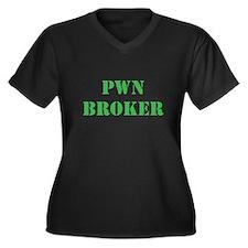Pwn Broker Plus Size T-Shirt