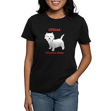 Westie Mum T-Shirt