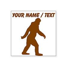 Custom Bigfoot Silhouette Sticker
