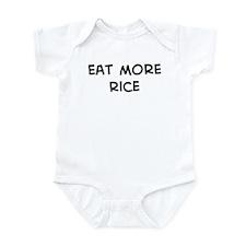 Eat more Rice Infant Bodysuit