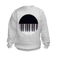 Piano Keys 7 Sweatshirt