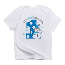 Snowman 1st Birthday Infant T-Shirt