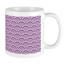 Orchid Scale Pattern Mug