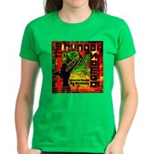 Personalize Girl On Fire Tee