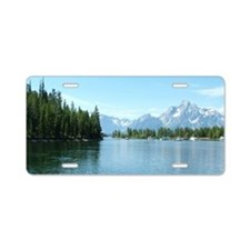 Grand Teton National Park l Aluminum License Plate