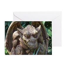 Photo of Gargoyle Statue Greeting Card