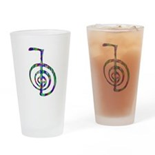 Reiki Power Symbol Drinking Glass