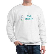 Got Reiki? Sweatshirt With Reiki Kanji