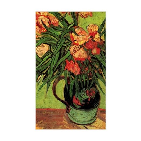 Still Life Vase with Oleanders Decal