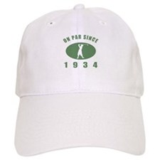 1934 Birthday Golf Baseball Cap
