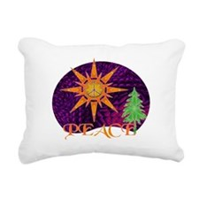 Christmas Peace Rectangular Canvas Pillow