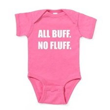 All Buff No Fluff Fat Hamster Baby Bodysuit