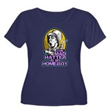 The Mad Hatter is My Homeboy Women's Plus Size Sco