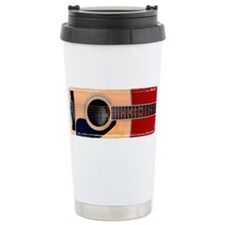 Cute Guitar Travel Mug