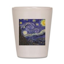 Starry Night by Vincent van Gogh Shot Glass