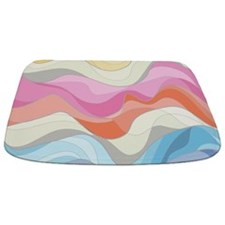 Wavy Pattern Bathmat