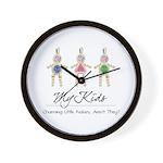 My Kids Wall Clock