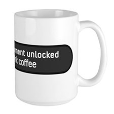 Achievement Unlocked Drink Coffee Mugs