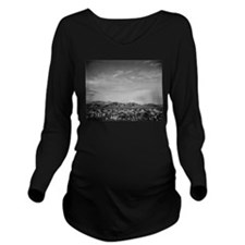 Cute Shrubs Long Sleeve Maternity T-Shirt