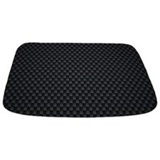 Carbon Mesh Pattern Bathmat